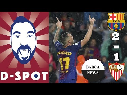 FC BARCELONA VS SEVILLA 2-1 FULL MATCH REVIEW | Barça News 04/11/17