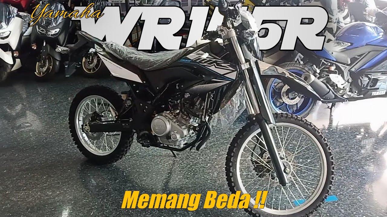 Yamaha WR 155 R hitam 2020 - spesifikasi & fitur