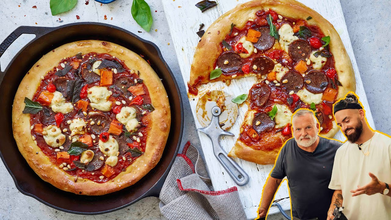 VEGAN BBQ BASED PAN PIZZAS, EASY!