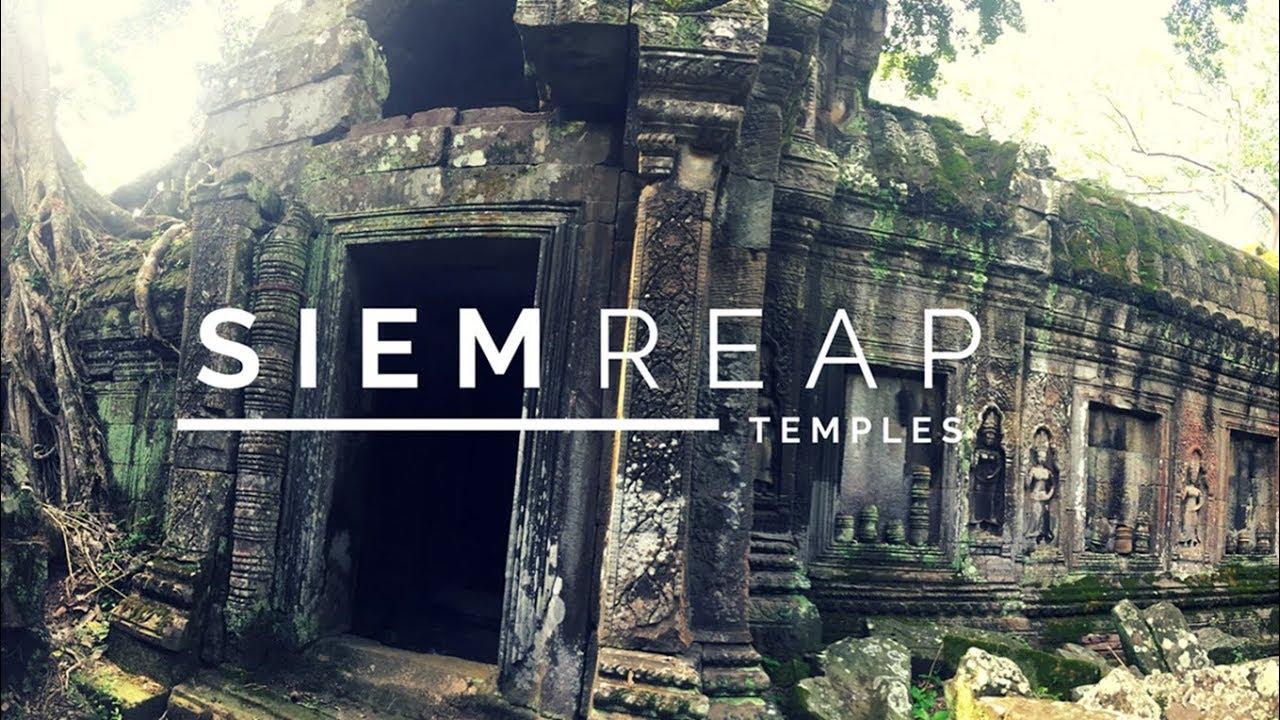SIEM REAP - TOMB RAIDER TEMPLE - Cambodia Travel Vlog
