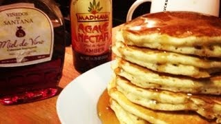 Pancakes De Avena / Oatmeal Pancakes (hot Cakes)
