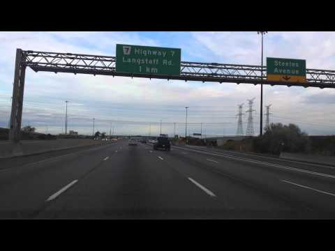 QEW Toronto to Highway 400 Bradford West Gwillimbury