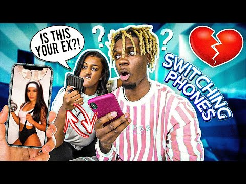 """I SWAPPED PHONES WITH MY GIRLFRIEND FOR 24 HOURS!!!💔 """"BAD IDEA"""""""