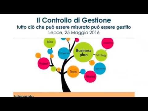 Il Controllo di Gestione /// Lecce, 25 Maggio 2016