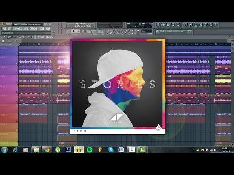 Avicii - Trouble (Full Fl studio instrumental remake + FLP)