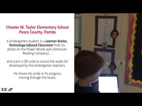 Kindergarten LATI Classroom at Chester Taylor Elementary in