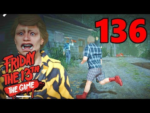 [136] Chad's Terrible Aim!!! (Let's Play Friday The 13th The Game)