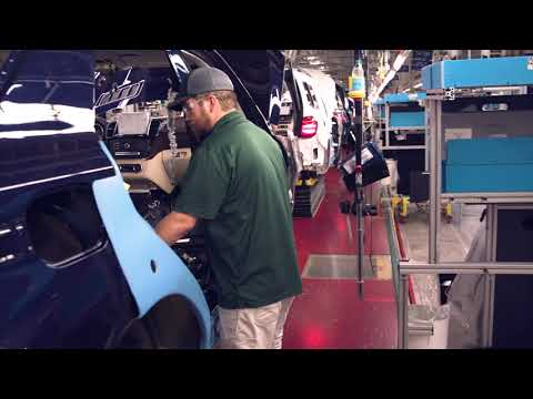 Mercedes-Benz Tuscaloosa Plant - SUV models Manufacturing