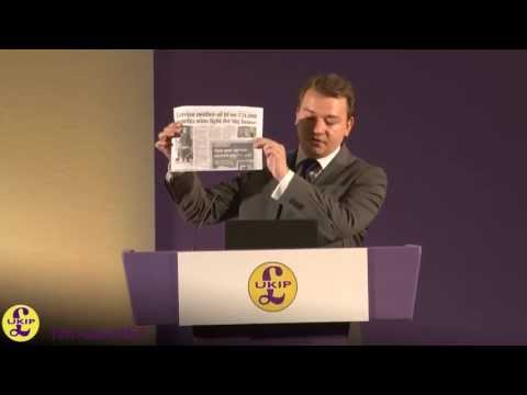 Tim Aker, Head of UKIP Policy Unit