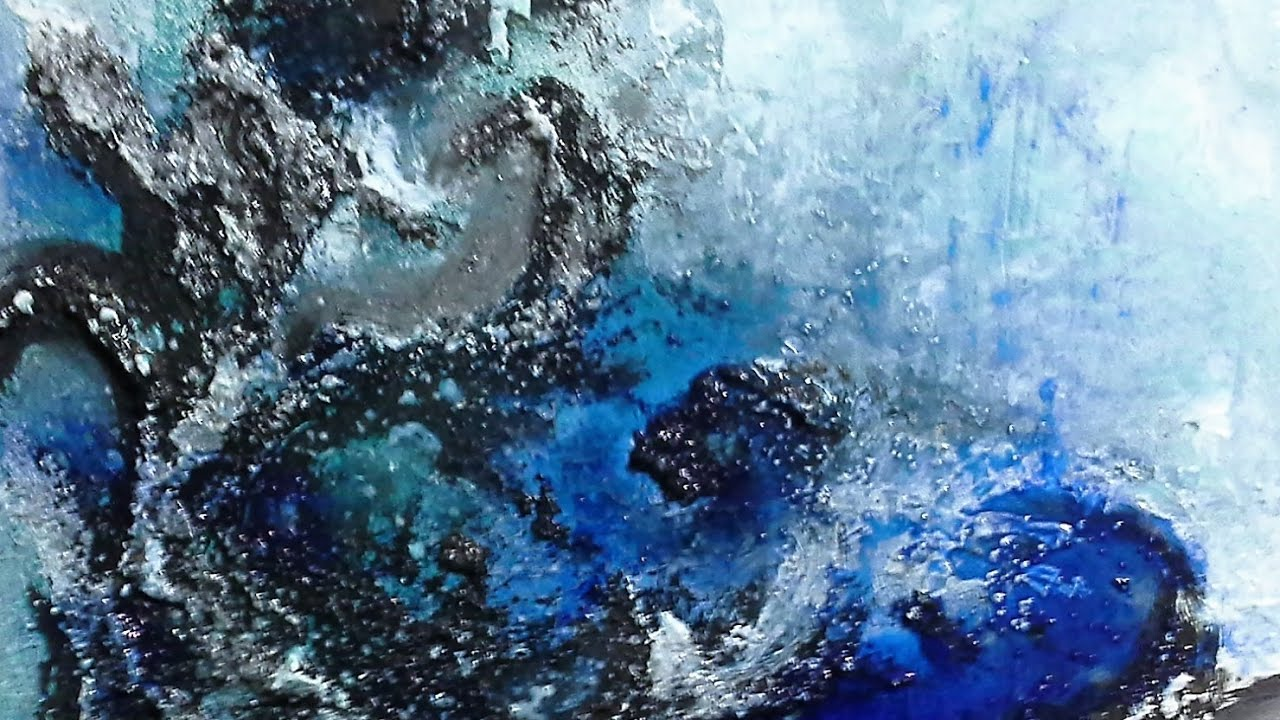 Blue Deep - Einfach Malen-Abstrakt,Struktur. Easy Painting-Abstract ...