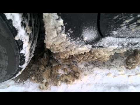 Why You Should Always Clear Your Wheel Well Of Snow After Each Drive