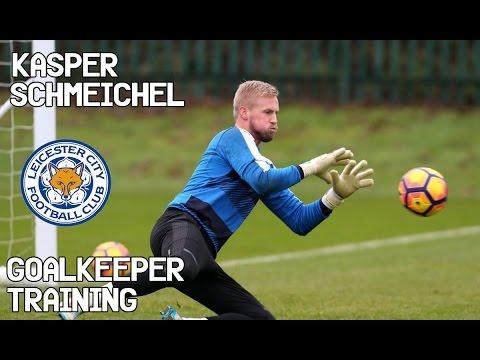 Kasper Schmeichel / Goalkeeper Training / Leicester City Fc !