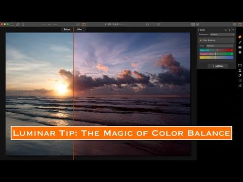 Luminar Tip:  The Magic of Color Balance