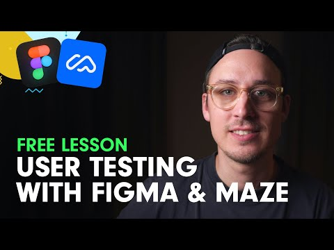 User Testing with Figma and Maze 2021 (Free Online Course Snippet)