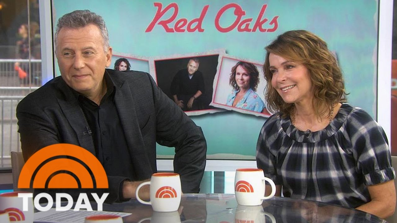 Download Jennifer Grey, Paul Reiser Talk 'Red Oaks,' Grey's Girl-Crush On Tamron Hall   TODAY