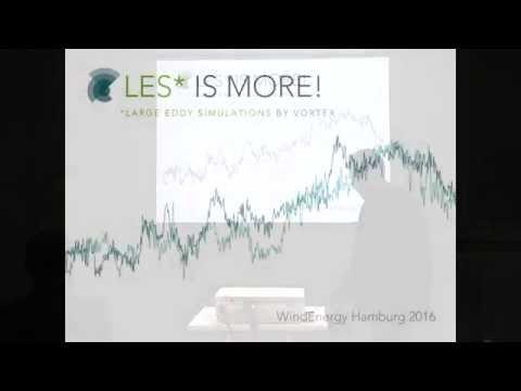 Vortex WRF LES presentation event Hamburg 2016