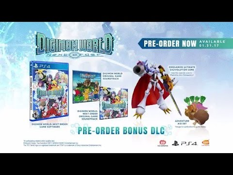 Digimon World: Next Order - Story Trailer | PS4