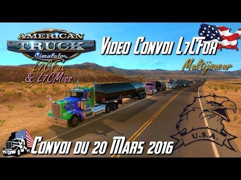 American Truck Simulator - Multijoueur - Convoi L7CFox du 20.03.16