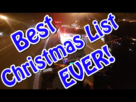 Best Christmas List EVER?! + GTR!!