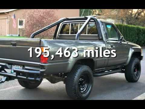 1988 Toyota Pickup SR5 2dr 3RE 5 Speed Manual Tacoma For Sale In Milwaukie,  OR