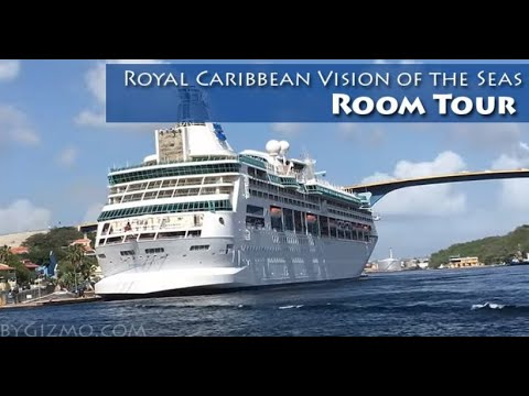 Royal Caribbean Cruise Cabin ROOM TOUR Vision of the Seas