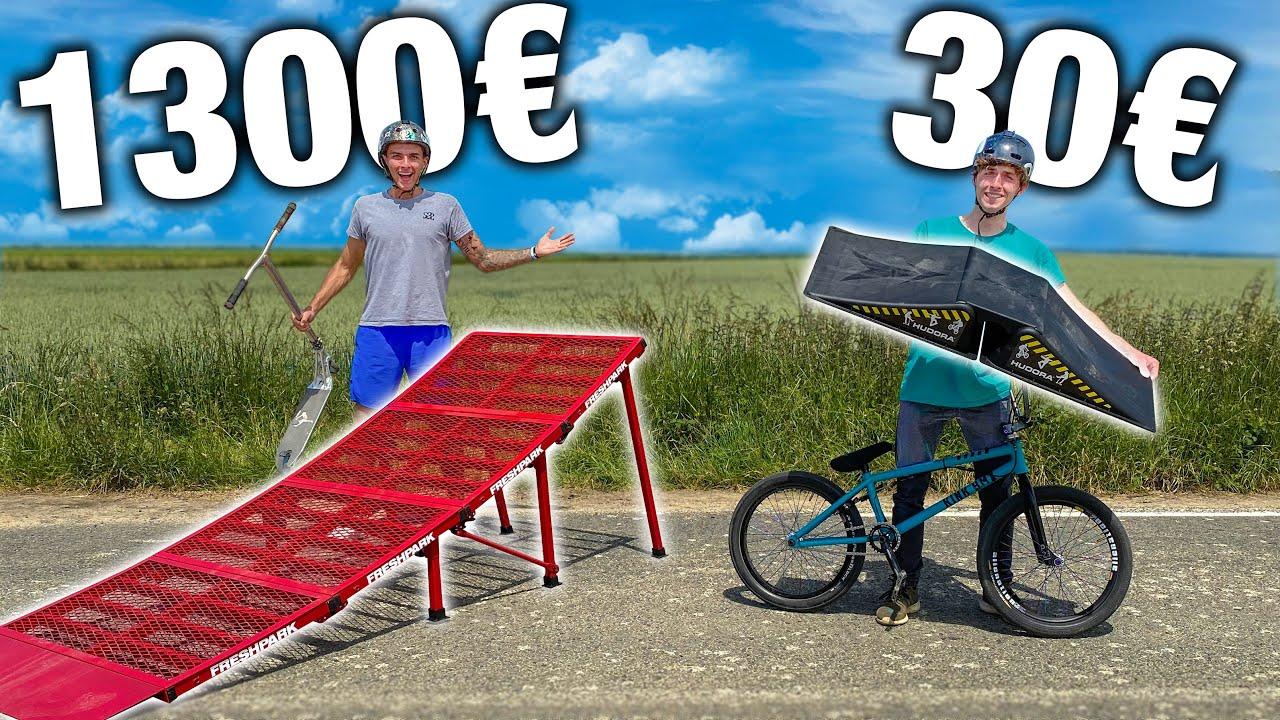 RAMPE À 30€ VS RAMPE À 1300€ (avec @Philippe Cantenot)