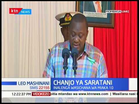 Rais Uhuru Kenyatta azindua rasmi chanjo cha HPV kukabiliana na saratani ya kizazi nchini