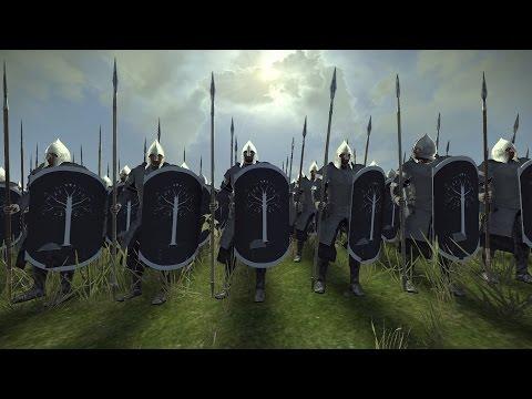 Gondor Vs. Rome LOTR Mod  (Total War: Rome 2 Mod Showcase)
