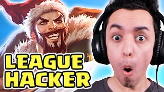 I FOUND A REAL HACKER IN LEAGUE OF LEGENDS
