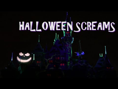 disneylands halloween screams fireworks show from halloween night 2017 shot in 60 frames per second 1080p camera and editing by joshua coleman