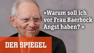 »Spitzentitel« mit Wolfgang Schäuble: »Warum soll ich vor Frau Baerbock Angst haben?«
