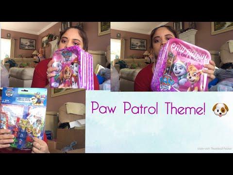 Paw Patrol Party Decorations Haul!