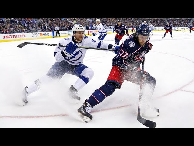 The Blue Jackets Convincing Sweep of the Lightning