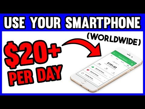 MAKE MONEY ONLINE WITH YOUR SMARTPHONE [WORLDWIDE]
