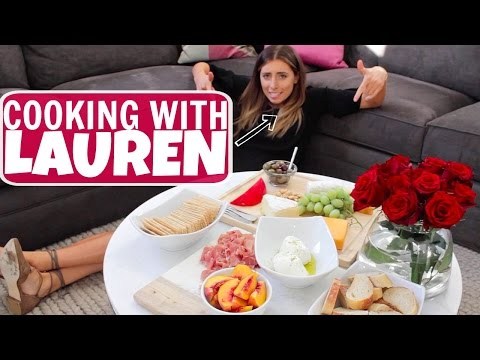 COOKING WITH LAUREN: CHEESE PLATE
