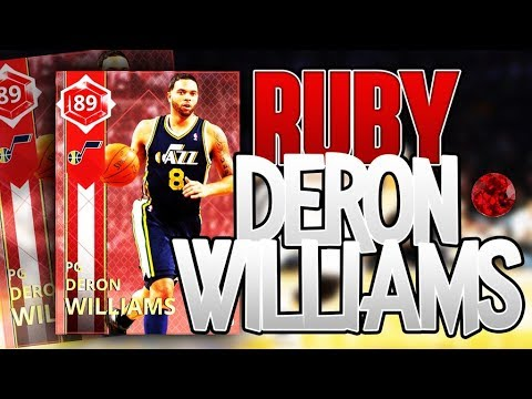 RUBY DERON WILLIAMS GAMEPLAY!! THIS CARD IS FILTHY!!! 88 SYSTEM PROFICIENCY!!!