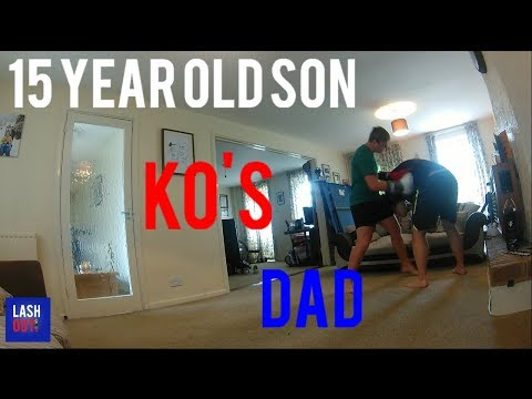 Father v Son 15 Year Old KO's Dad