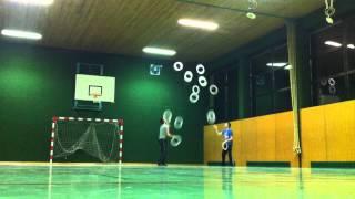 13 ring passing world record