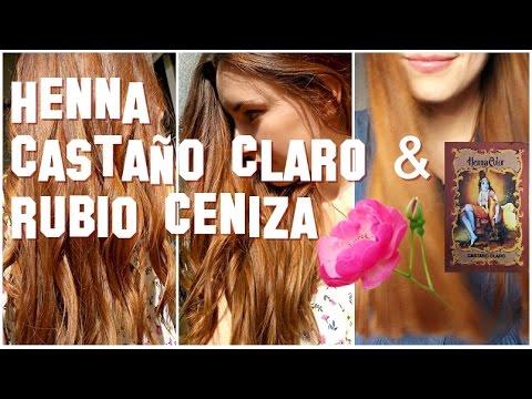 Henna Castaño Claro Y Henna Rubio Ceniza Radhe Shyam Reflejos