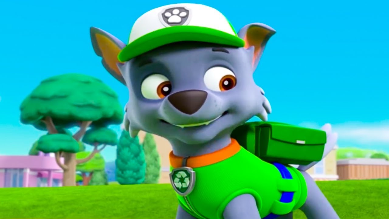 paw patrol a day in adventure bay  rocky episode 6  youtube