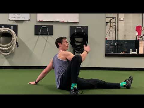 Opening the Hip Flexors with the Scorpion Frog Roll