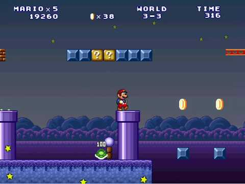 Mario Forever - 3 - life cycle of a plump stripped turnip tree