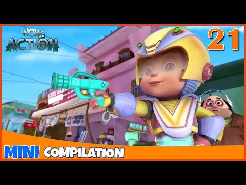 Vir The Robot Boy | Mini series | Compilation - 21 | 3D cartoon for kids | WowKidz Action