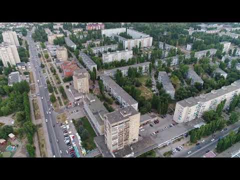 Жилгород Балаково с высоты ...