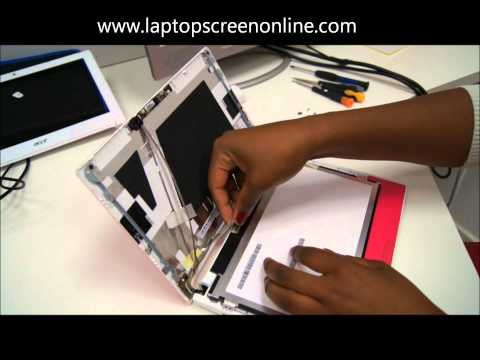 Acer Aspire One D255, D255e, D260, D260A, D257, PAV70 Netbook Laptop Screen Replacement Repair