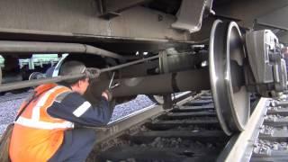 12 позиций осмотра грузового вагона на ПТО Абакан