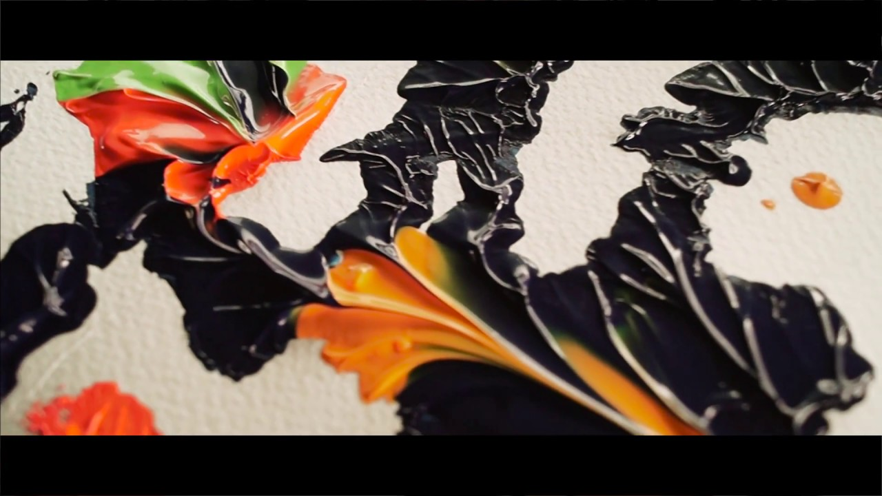 Learn How To Paint Abstract Paintings Painting Techiques For Beginners Painting For Kids