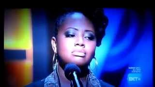 "Lalah Hathaway sings ""A Song For You"" on BET"