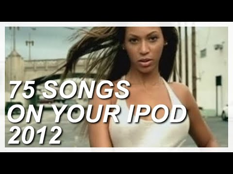 75 songs on your ipod in 2012