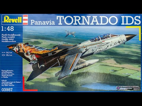 Revell : Panavia Tornado IDS : 1/48 Scale Model : In Box Review